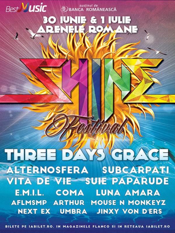Shine Festival 2017 la Arenele Romane