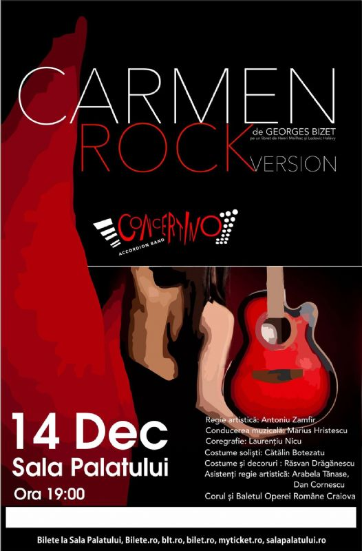 Carmen - Rock Version la Sala Palatului