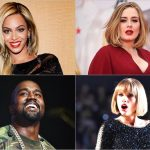 Beyonce / Adele / Kanye West / Taylor Swift