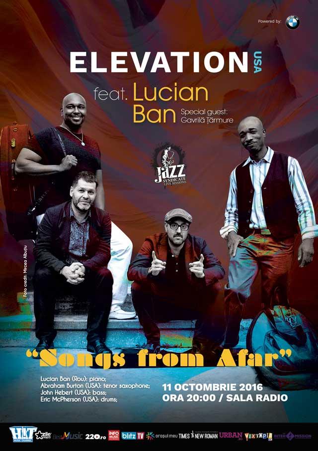 Elevation feat Lucian Ban la Sala Radio