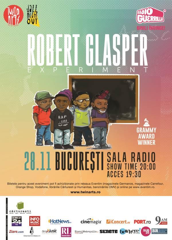 Robert Glasper la Sala Radio