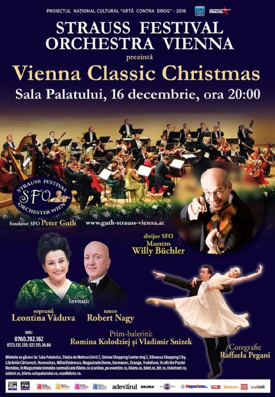 Strauss Festival Orchestra Vienna la Sala Palatului