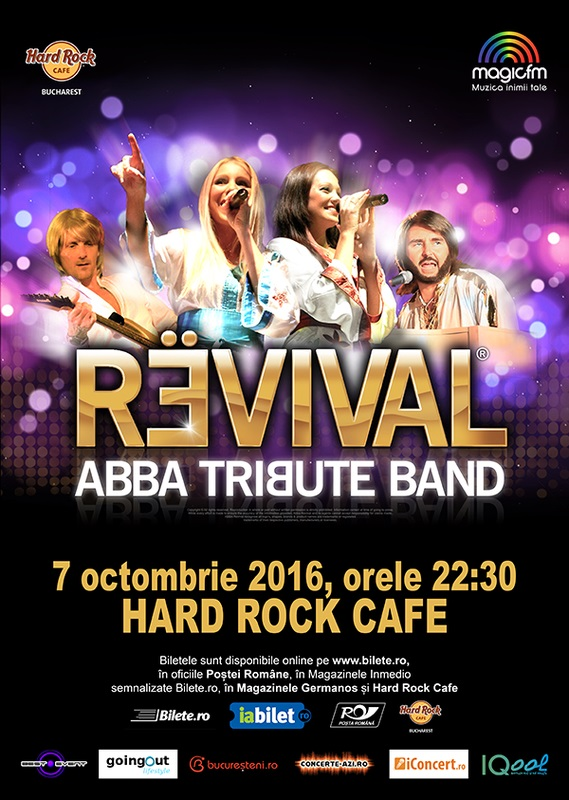 ANULAT - Revival - ABBA Tribute la Hard Rock Cafe