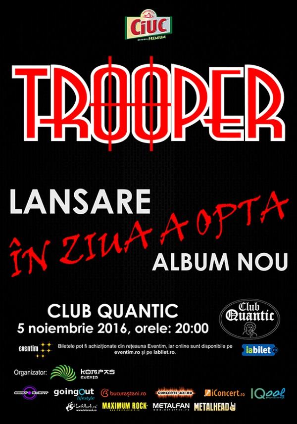 Trooper la Quantic Club