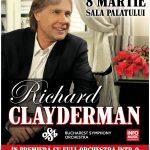 Afis Richard Clayderman Concert Sala Palatului 2016