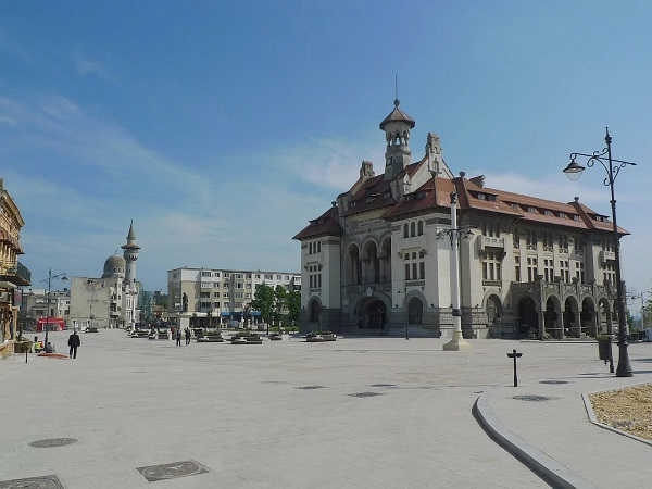 Piața Ovidiu din Constanța