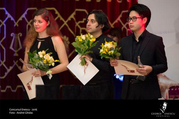 Câștigătorii Concursului Enescu 2016, Secțiunea Pian