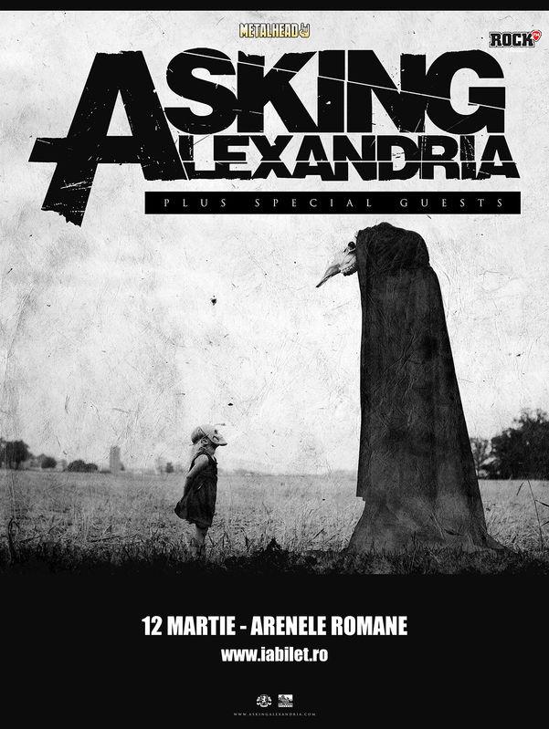 Asking Alexandria la Arenele Romane