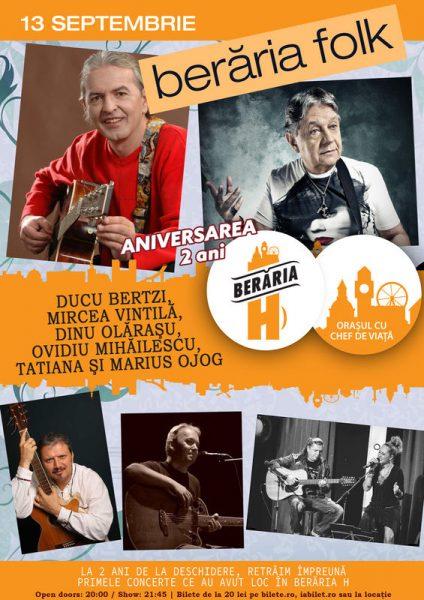 Poster eveniment Berăria Folk 2