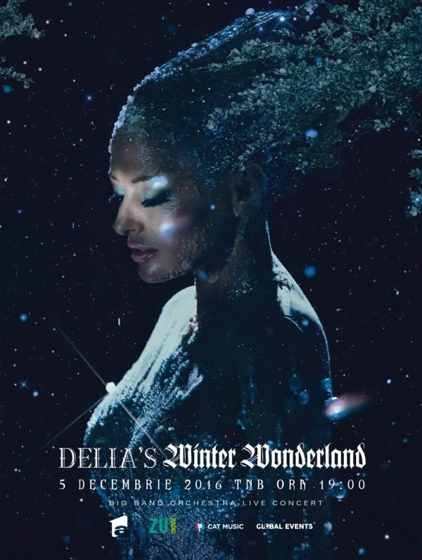 Delia's Winter Wonderland la Teatrul Naţional București