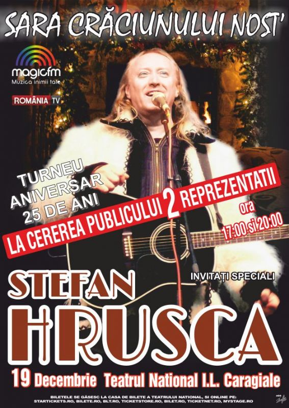 Ștefan Hrușcă la Teatrul Naţional București
