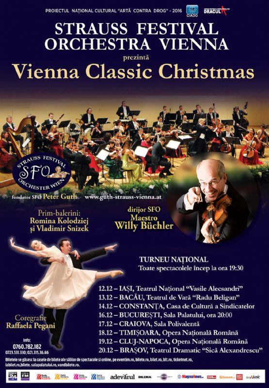 Vienna Classic Christmas la Teatrul de Vară