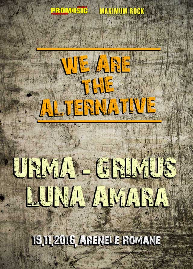 We Are The Alternative la Arenele Romane