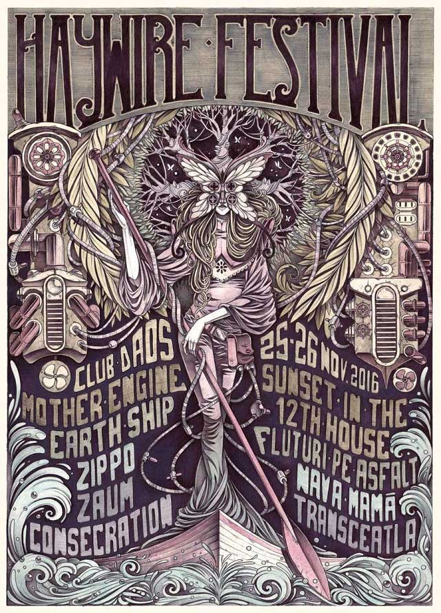 Haywire Festival la Daos Club