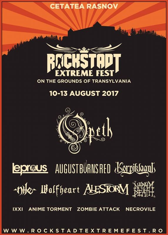 Rockstadt Extreme Fest 2017 la Cetatea Râșnov