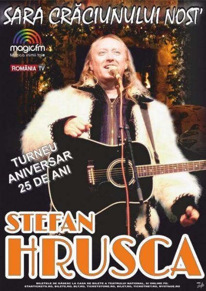 Poster eveniment Ștefan Hrușcă