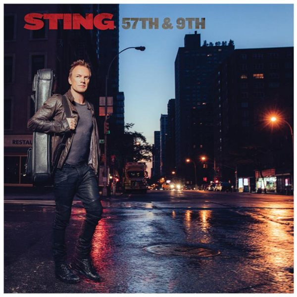 "Sting - ""57th & 9th"" (copertă album)"
