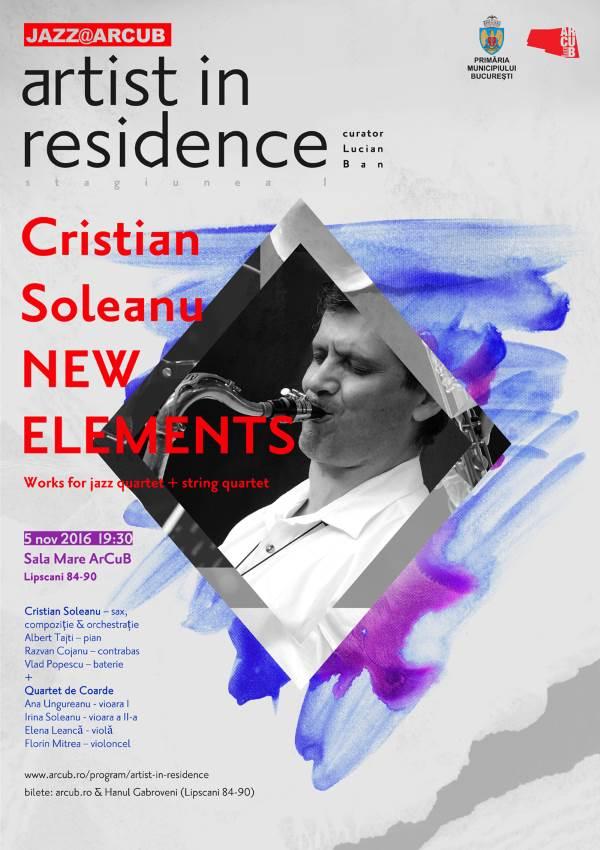 Cristian Soleanu & Double Quartet la ARCUB