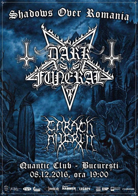 Dark Funeral la Quantic Club
