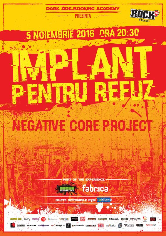 Implant Pentru Refuz I Negative Core Project la Fabrica