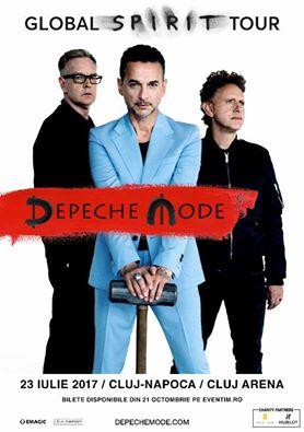 Depeche Mode la Cluj Arena