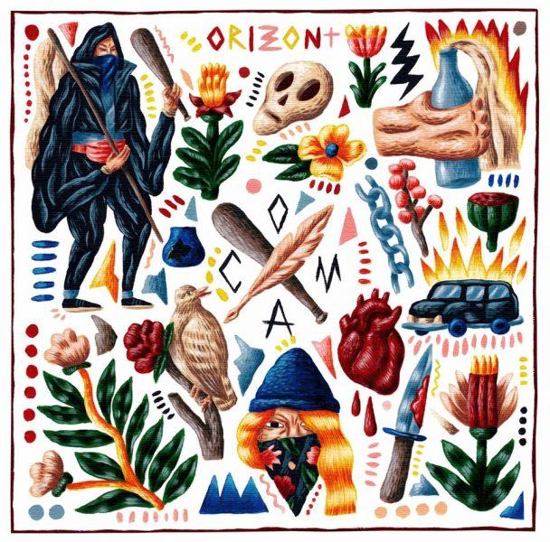 """Coma - """"Orizont"""" (copertă album)"""