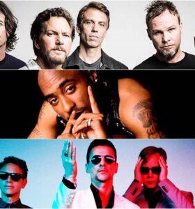 Pearl Jam / Tupac / Depeche Mode
