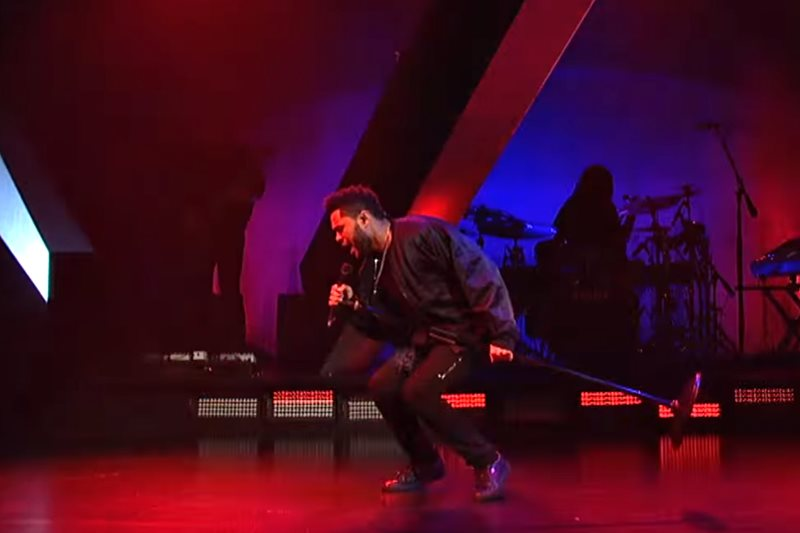 The Weeknd - False Alarm (Live On SNL)
