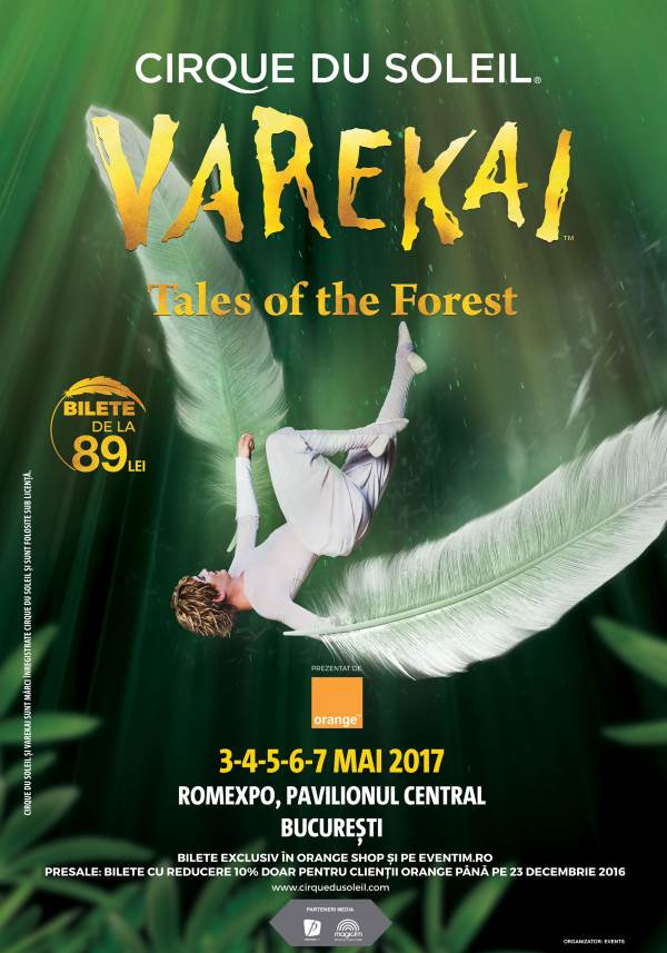 Cirque du Soleil - Varekai la Romexpo