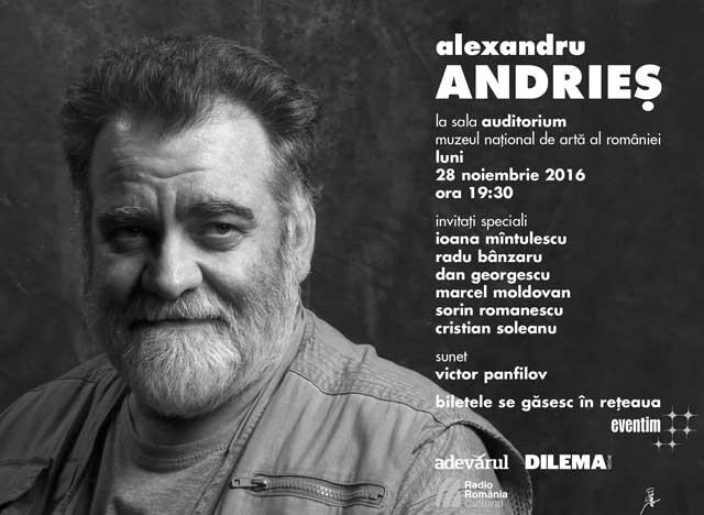 Alexandru Andrieș la Muzeul Național de Artă al României (MNAR)
