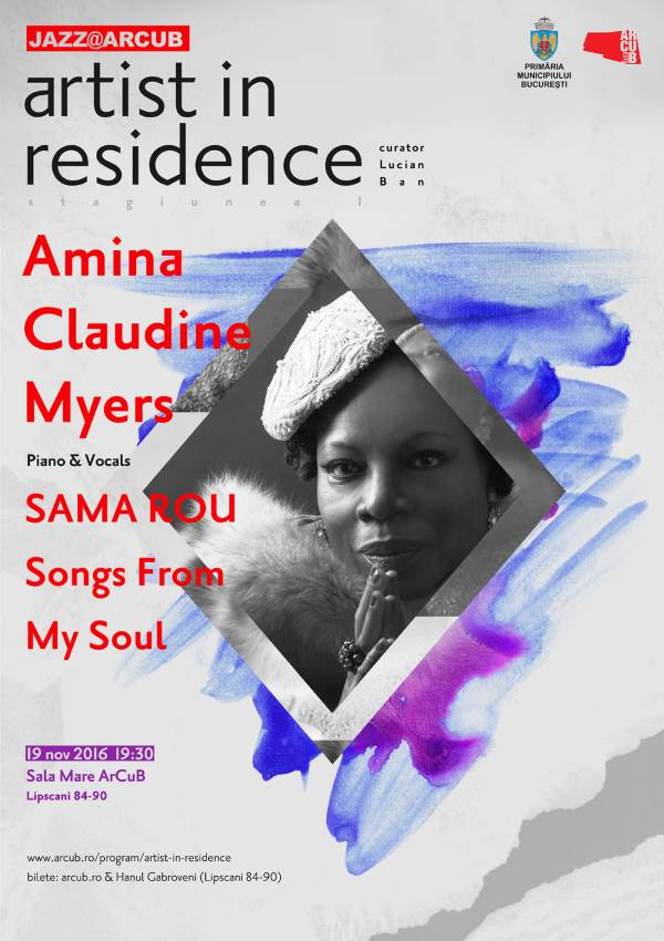 Amina Claudine Myers la Sala ArCuB