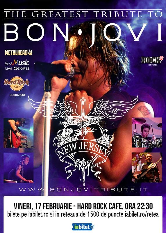 Bon Jovi Tribute la Hard Rock Cafe