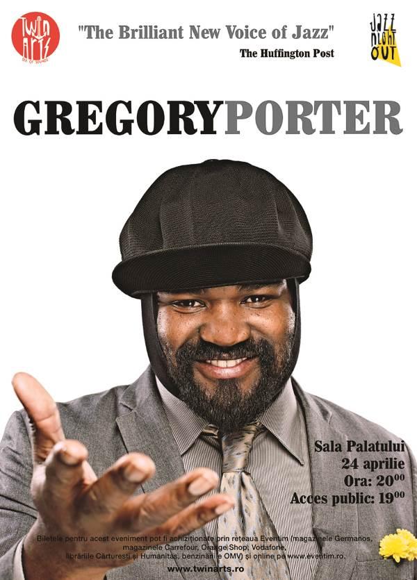 Gregory Porter la Sala Palatului