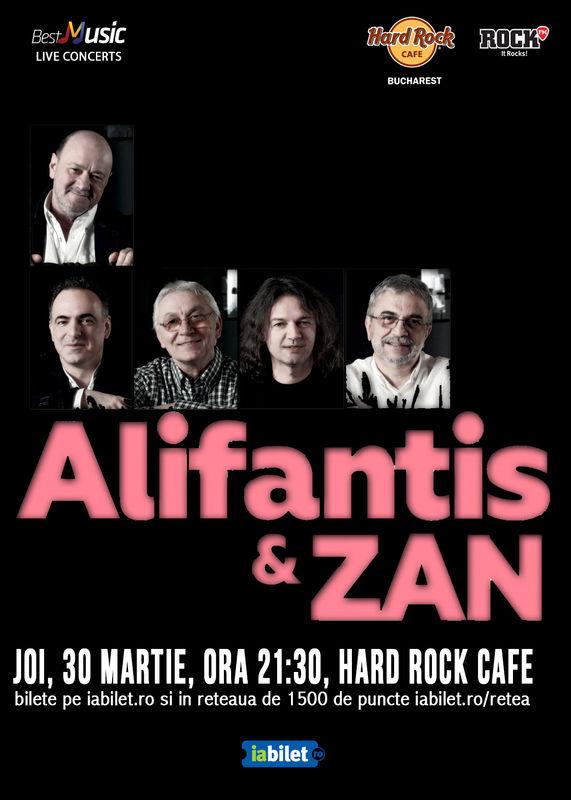 Nicu Alifantis & Zan la Hard Rock Cafe