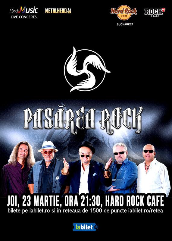 Pasărea Rock la Hard Rock Cafe