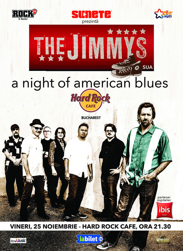 The Jimmys la Hard Rock Cafe