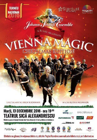 "Vienna Magic - Johann Strauss Ensemble la Teatrul ""Sică Alexandrescu"" Brașov"