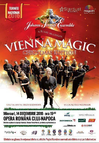 Vienna Magic - Johann Strauss Ensemble la Opera Națională Română Cluj-Napoca