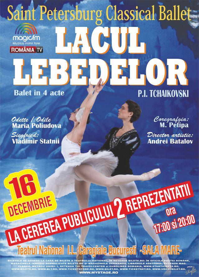 Lacul Lebedelor la Teatrul Naţional București