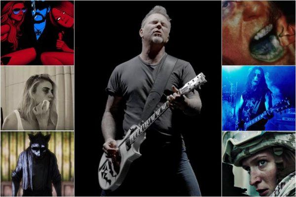 "Screenshot-uri din 7 videoclipuri noi Metallica (de pe albumul ""Hardwired...to Self-Destruct"")"