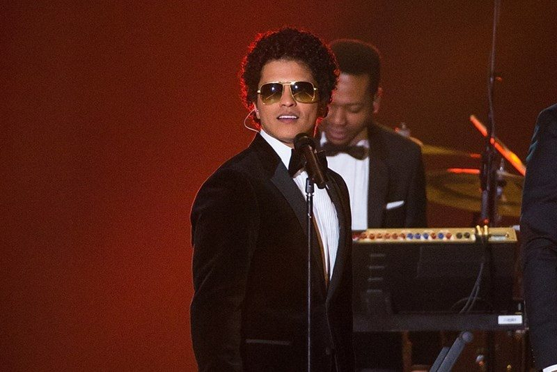 Bruno Mars la Victoria's Secret Fashion Show 2016