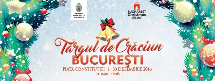 Bucharest Christmas Market 2016 la Piața Constituției