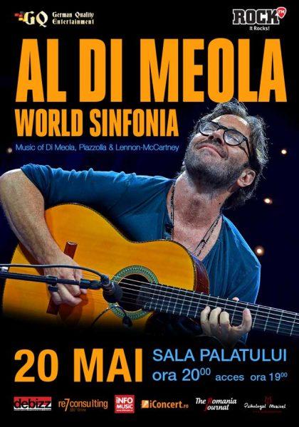 Poster eveniment Al Di Meola