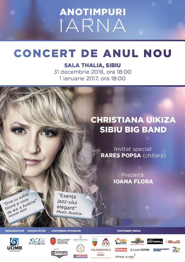 Concert de Anul Nou la Sala Thalia
