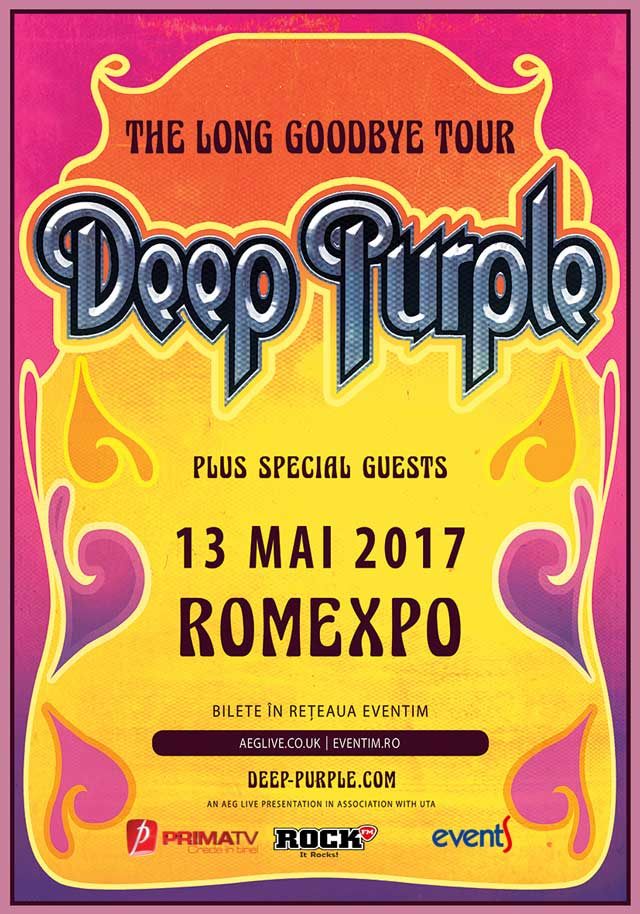 Deep Purple la Romexpo