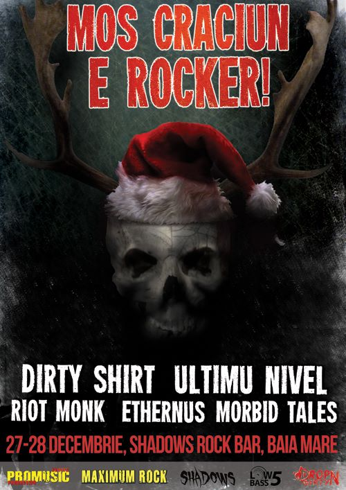 Moș Crăciun e Rocker la