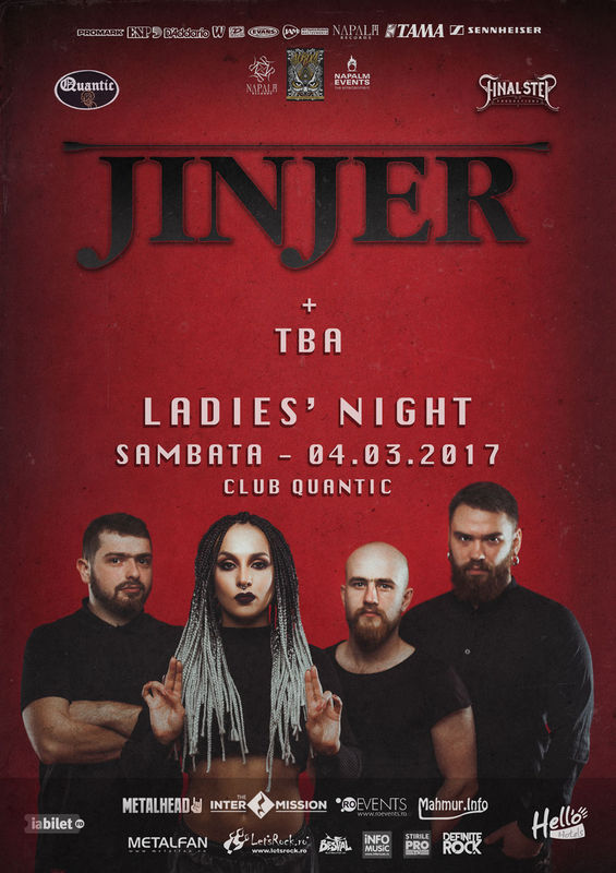 Jinjer la Quantic Club