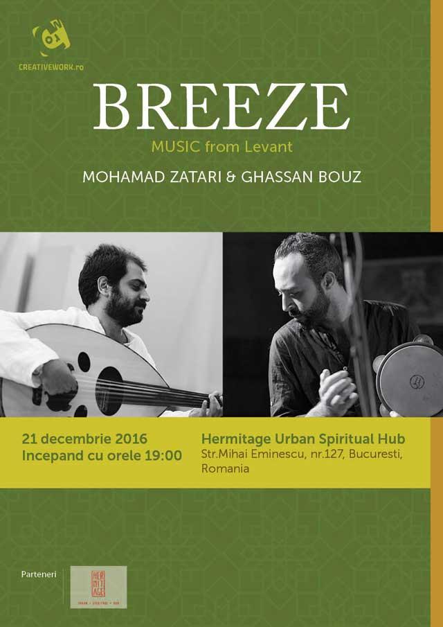 Mohamad Zatari & Gassan Bouz la Hermitage Urban Spiritual Hub