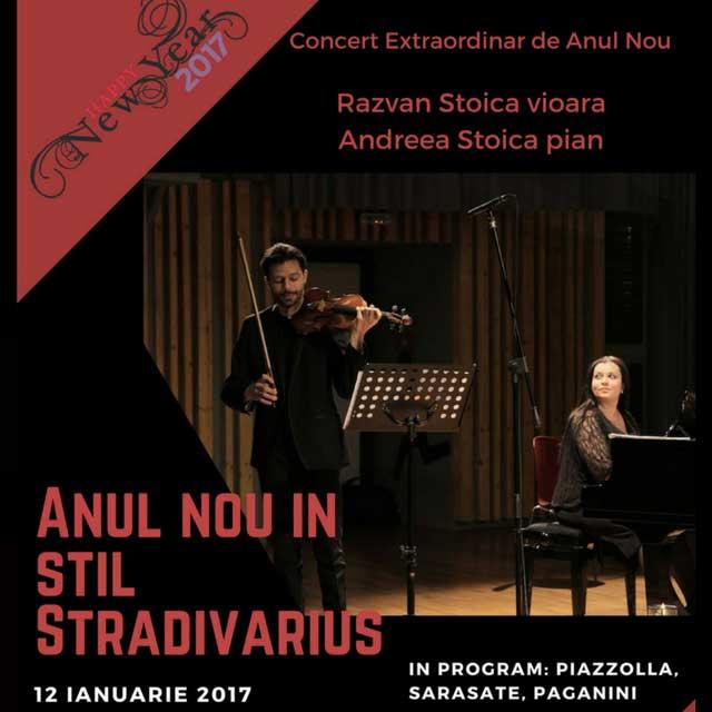 Anul Nou în stil Stradivarius la Sala Radio