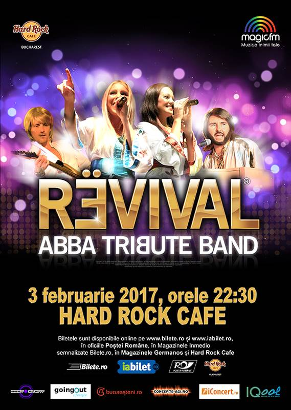 Revival - ABBA Tribute la Hard Rock Cafe